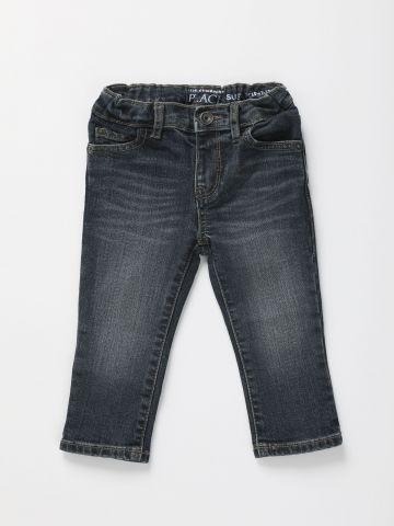 ג'ינס ארוך עם שפשופים / 6M-5Y של THE CHILDREN'S PLACE