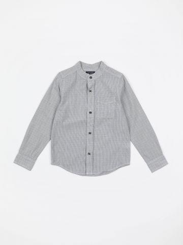 חולצה מכופתרת בהדפס פסים ונקודות / בנים של THE CHILDREN'S PLACE