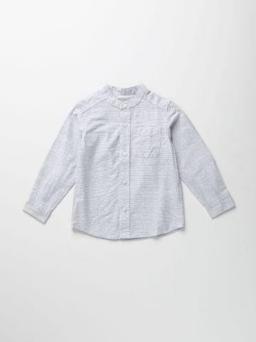חולצה מכופתרת בהדפס נקודות / 9M-4Y של THE CHILDREN'S PLACE
