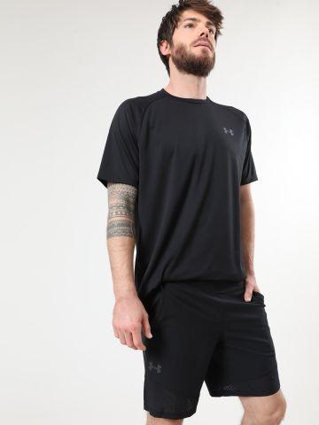 מכנסי ספורט קצרים עם גומי לוגו של UNDER ARMOUR