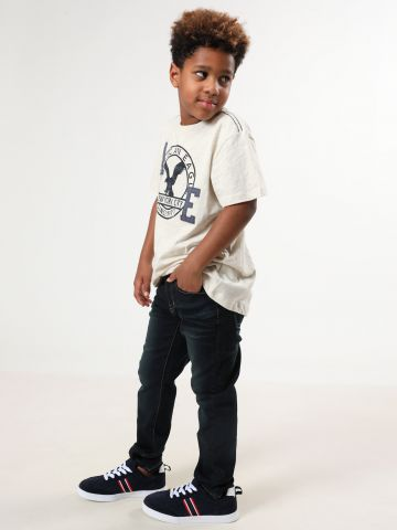 ג'ינס סקיני בשטיפה כהה עם ווש של AMERICAN EAGLE