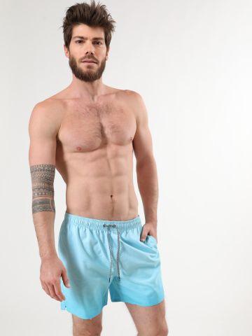 מכנסי בגד ים בהדפס פסים דקים של BILLABONG