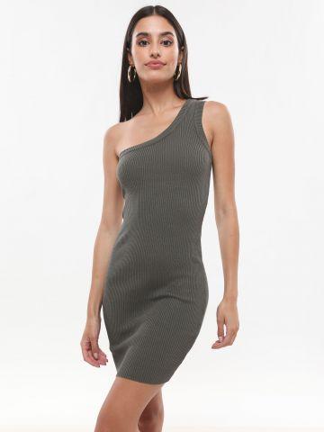 שמלת ריב מיני וואן שולדר של TERMINAL X