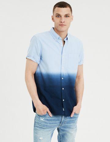 חולצה מכופתרת אומברה של AMERICAN EAGLE