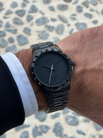 שעון חוליות עם מחוגים Namos / גברים של AINKER