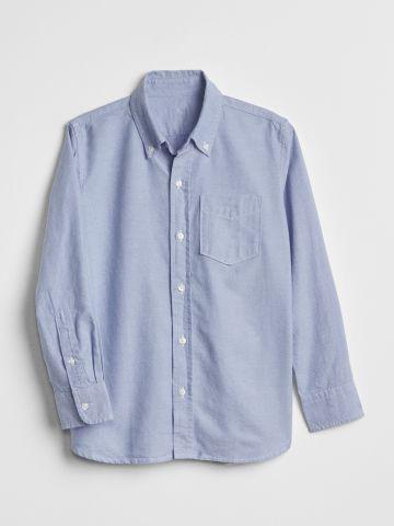 חולצה מכופתרת קלאסית עם כיס / בנים של GAP