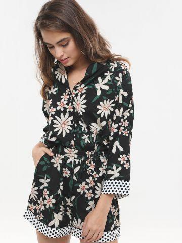 מכנסיים קצרים בהדפס פרחים של GLAMOROUS
