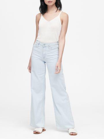 ג'ינס בגזרת גבוהה מתרחבת של BANANA REPUBLIC