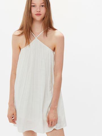 שמלת מיני עם קפלים UO של URBAN OUTFITTERS
