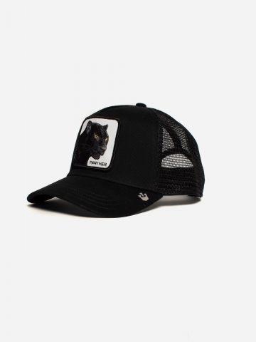 כובע מצחיה עם פאץ' פנתר Panther של GOORIN BROS
