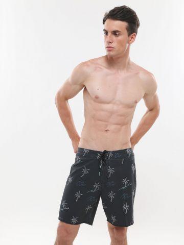 מכנסי בגד ים בהדפס דקלים של BILLABONG