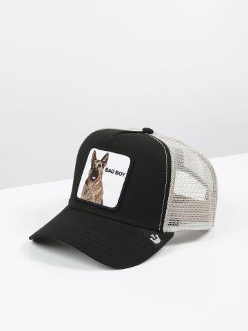כובע מצחייה עם פאץ' כלב Bad Boy / גברים של GOORIN BROS