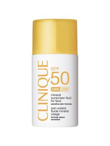 קרם הגנה לפנים Mineral Sunscreen Fluid SPF 50 של CLINIQUE