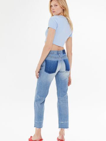 ג'ינס קרופ בגזרת בויפרנד BDG של URBAN OUTFITTERS