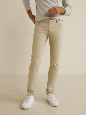 ג'ינס סלים-פיט ארוך של MANGO