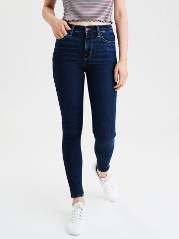 ג'ינס סקיני סטרצ' High Rise Jegging של AMERICAN EAGLE
