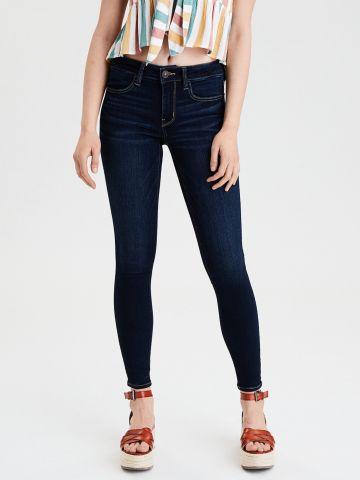 ג'ינס בשטיפה כהה / נשים של AMERICAN EAGLE
