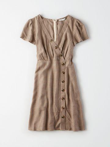 שמלת מיני אסימטרית עם כפתורים / נשים של AMERICAN EAGLE