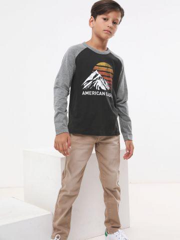 ג'ינס סקיני סטרץ' של AMERICAN EAGLE