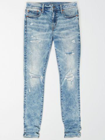 ג'ינס סקיני אסיד ווש Young Money / גברים של AMERICAN EAGLE