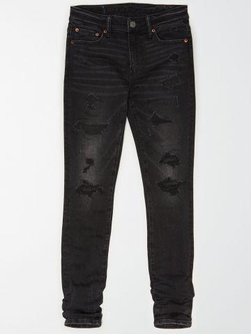 ג'ינס סקיני עם קרעים Young Money / גברים של AMERICAN EAGLE