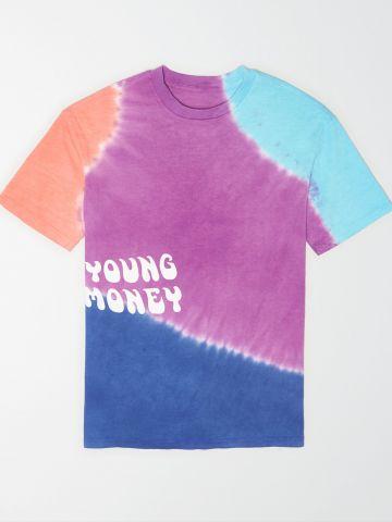 טי שירט טאי דאי עם הדפס Young Money / גברים של AMERICAN EAGLE