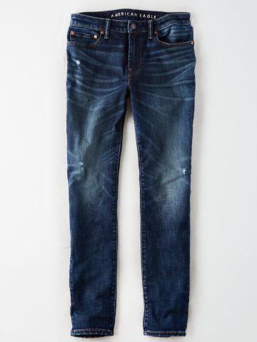 ג'ינס Slim בשטיפה כהה / גברים של AMERICAN EAGLE