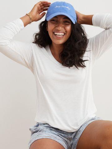 חולצת פיג'מה וי של AERIE