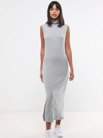 שמלת מקסי עם צווארון גולף של TERMINAL X