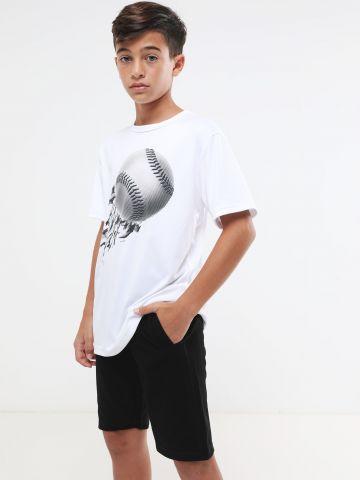מכנסי טרנינג ברמודה / בנים של FOX