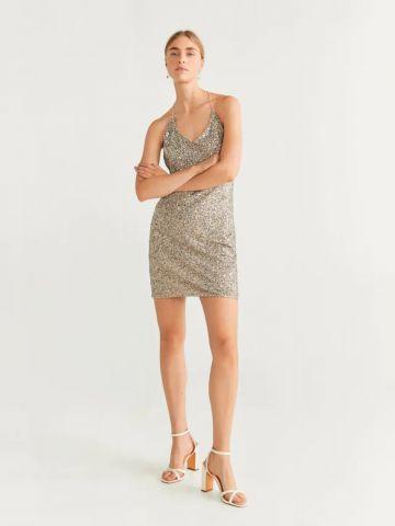 שמלת מיני בעיטור פאייטים / נשים של MANGO
