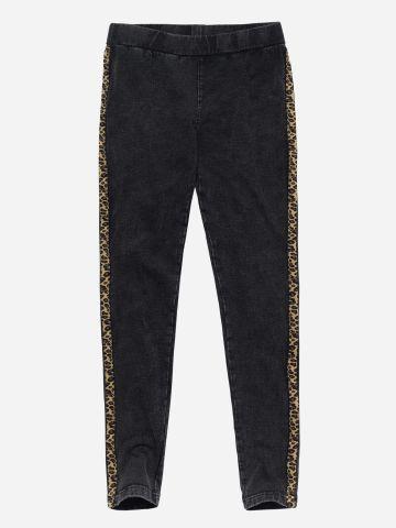 מכנסיים דמוי ג'ינס עם סטריפים / בנות של FOX