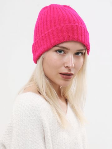 כובע גרב ריב סרוג / נשים של TERMINAL X