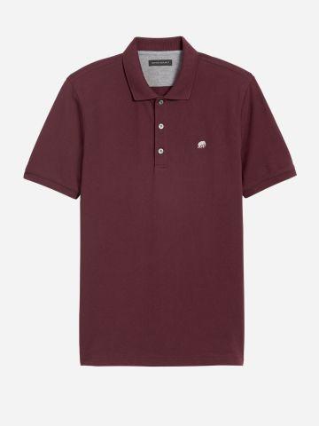 חולצת פולו עם רקמת לוגו / גברים של BANANA REPUBLIC
