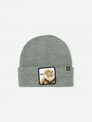 כובע גרב עם פאץ' אריה / גברים של GOORIN BROS