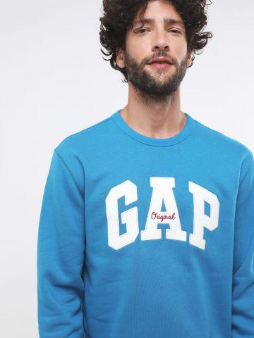 סווטשירט פוטר עם פאץ' לוגו של GAP