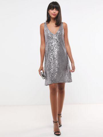 שמלת פאייטים מיני X שושיין של YANGA