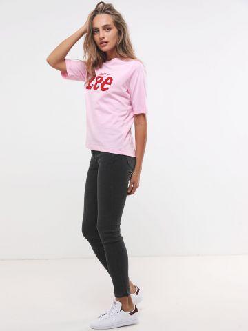 ג'ינס סקיני בגזרה גבוהה של LEE