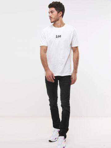ג'ינס סלים בשטיפה כהה Luke של LEE