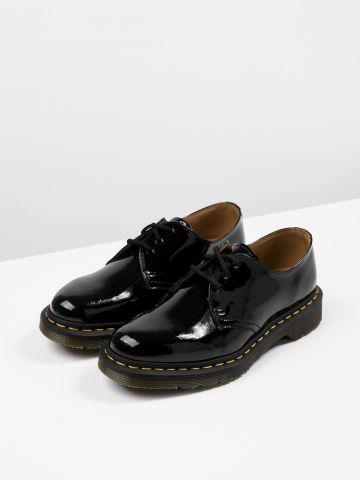נעלי אוקספורד לכה עור Eye Gibson / נשים של DR.MARTENS
