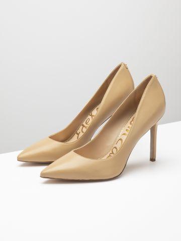נעלי עקב עור סטילטו של SAM EDELMAN