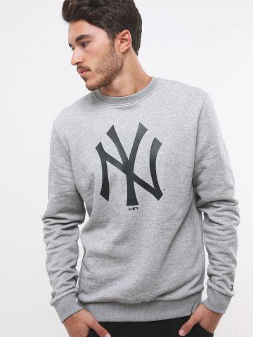 סווטשירט עם הדפס New York Yankees של NEW ERA