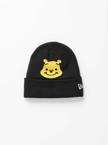כובע גרב עם הדפס פו הדב / בנות של NEW ERA