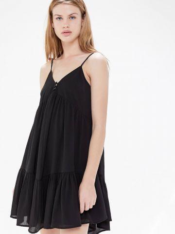 שמלת קומות מיני UO של URBAN OUTFITTERS