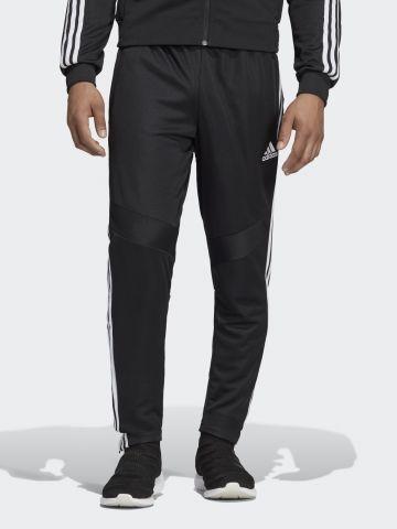 מכנסי אימון שלושה פסים עם לוגו של ADIDAS Performance