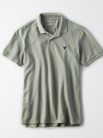 חולצת פולו בייסיק / גברים של AMERICAN EAGLE