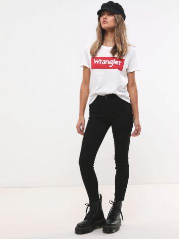 ג'ינס סקיני בגזרה גבוהה של WRANGLER