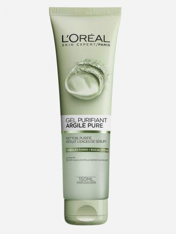 תרחיץ חימר לטיהור העור Pure Clay Wash של L'OREAL PARIS