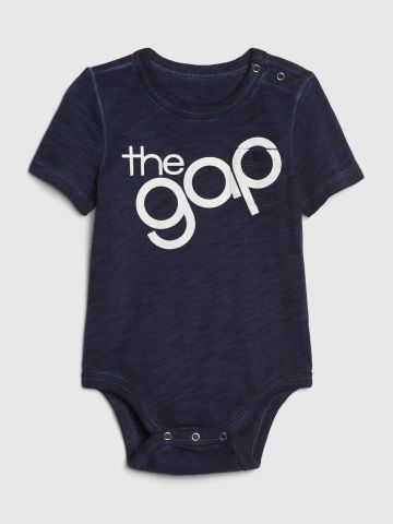 בגד גוף לוגו מלאנז' עם כיס Gap 50th anniversary / 0-24M של GAP