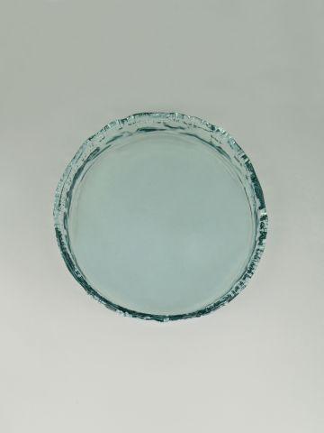 קערת זכוכית עגולה להגשה של FOX HOME